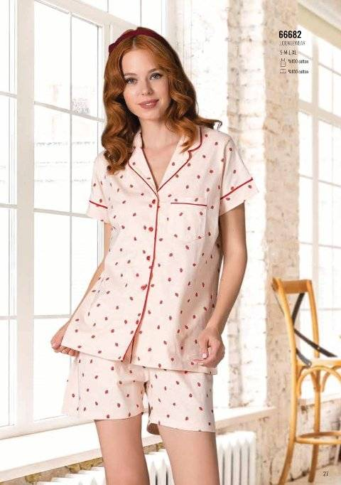 Yazlık Pijama Loungewear NBB 66682
