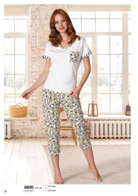 Yazlık Pijama Loungewear NBB 66695