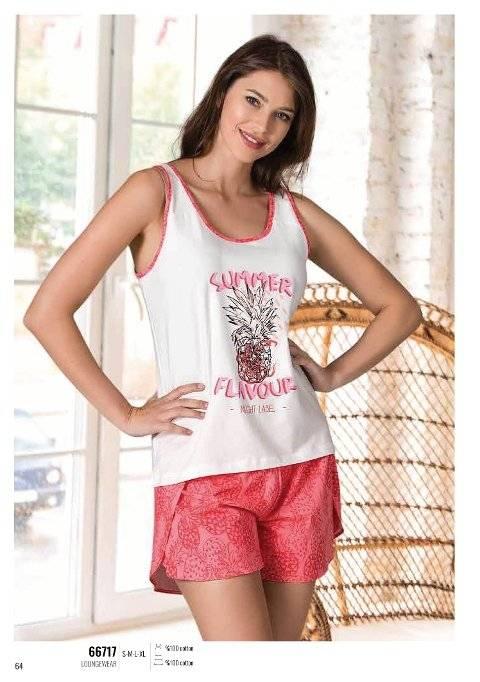Yazlık Pijama Loungewear NBB 66717
