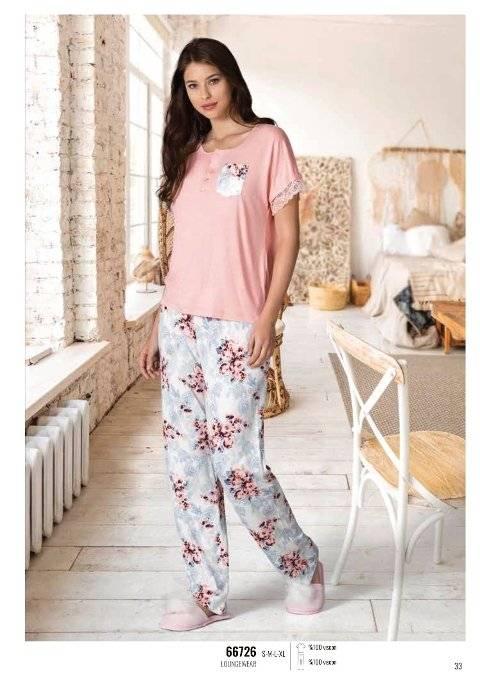 Yazlık Pijama Loungewear NBB 66726