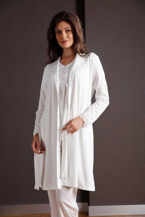 Yeni İnci BPJ109 3lü Hamile Lohusa Pijama Takımı