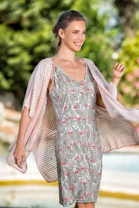 Yeni İnci BPJ1546 Askılı Gecelik Kadın Pijama