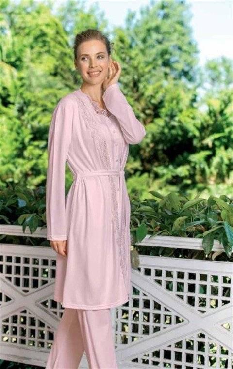 Yeni İnci BPJ194 3lü Hamile Lohusa Pijama Takım