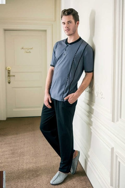 Yeni İnci EPJ498 Erkek Süpreme Pijama Takım