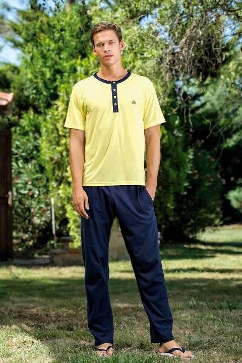 Yeni İnci EPJ716 Erkek Süprem 3lü Pijama Takım
