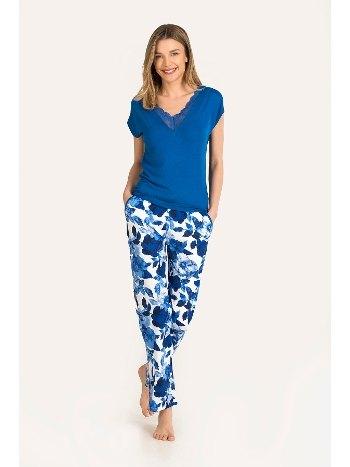 Blue Bud Viskon Pijama Takımı NBB 67116