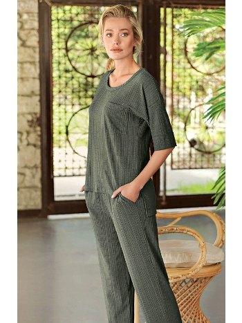 Casual Bayan Ev Giyim Artış 10206