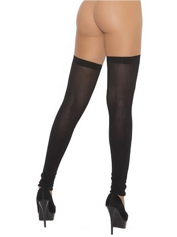 Kadın Jartiyer Siyah Çorap -80946