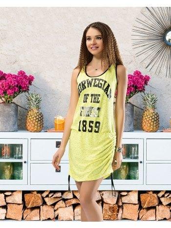 Kalın Askılı Kadın Elbise Derya Kurşun 954