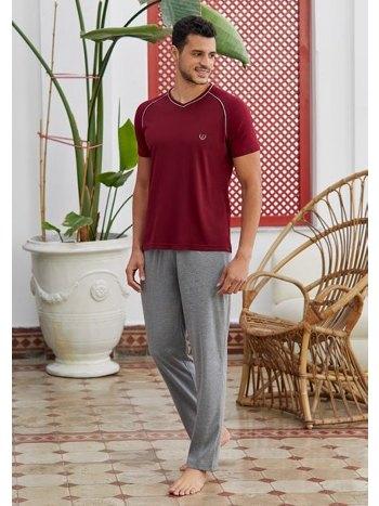 Kısa Kollu 3'lü Pijama Takımı Eros ESE28110