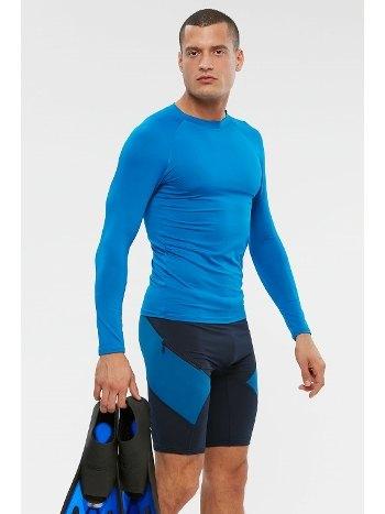 Kom Surfer UV Korumalı Tek Üst Mayo Saks