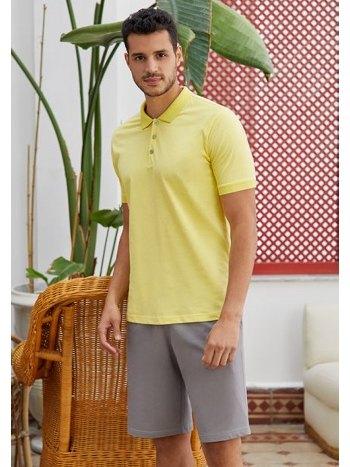 Polo Yaka T-shirt lü Şort Takım Eros ESE28020