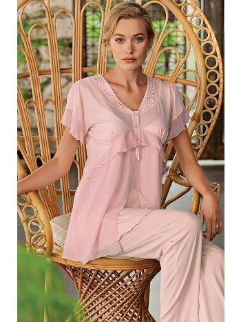 Sabahlıklı Lohusa Pijama Takımı Artış 8307