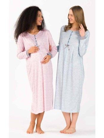 Viskon Kadın Pijama Gecelik Yeni İnci BPJ1738