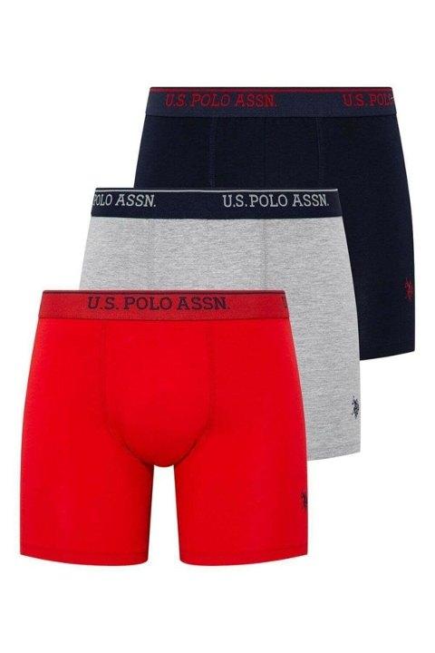 3 Lü Uzun Paçalı U.S. Polo Assn. Boxer 80454